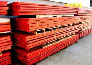 Second Hand Pallet Racking Beam and Frame APC Various Sizes