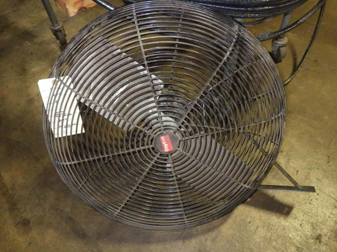 Commercial Wall Mount Fan : Used industrial wall mount fans dayton quot