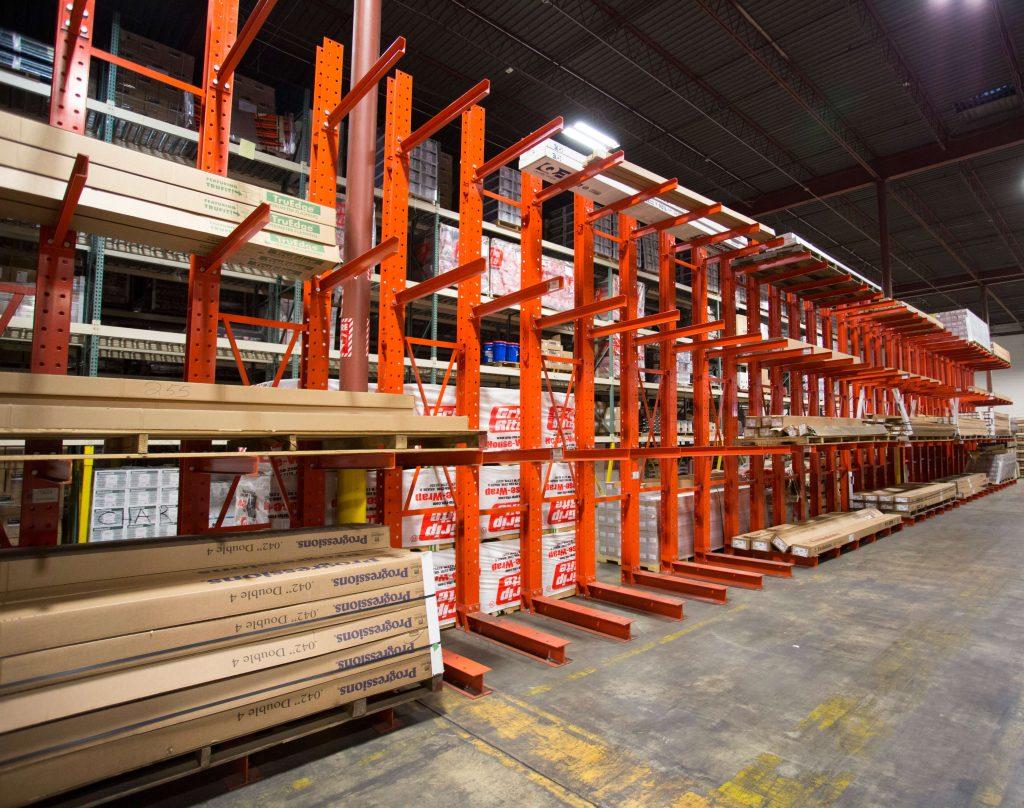 Cantilever Warehouse Shot