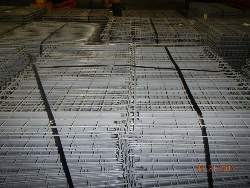 Used Wire Mesh Decking 34 Quot X 47 1 2 Quot X 30 1 4 Quot Double