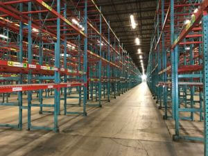 Used Pallet Rack Speedrack Uprights