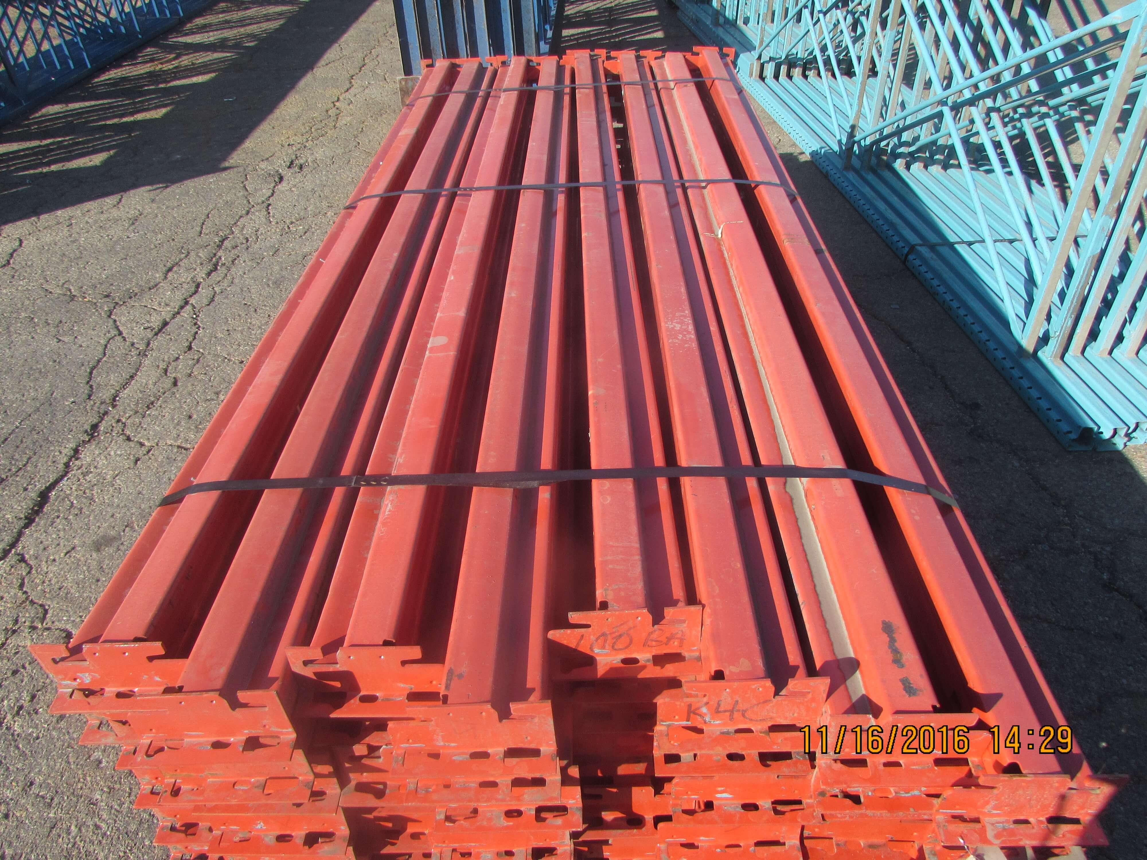 used pallet rack speedrack beams