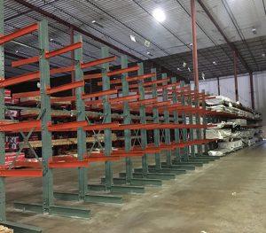 Lumber Cantilever Racks
